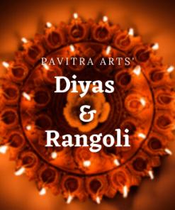 Diyas & Rangoli