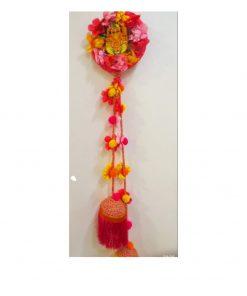 Ganesha Floral Hanging