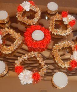 Elegant Flower Rangoli