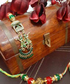 Jewel Antique doli lumba rakhii set