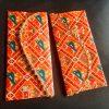 Envelope, Designer Silk Patola Set of 2 pcs