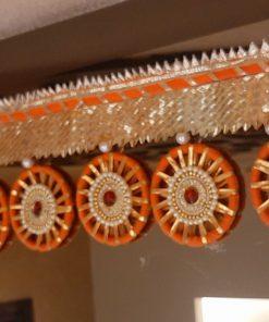 Elegant Pearl Effect Bandarwal