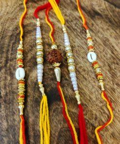 Beautiful of 5 rakhi design #3