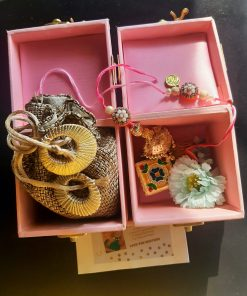 Exclusive Pink Pearl Hamper With Almond